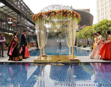 Wedding Decor is incomplete without an Imposing Mandap