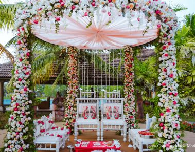 The Sindhi Wedding in Kerala with self-designed decor themes