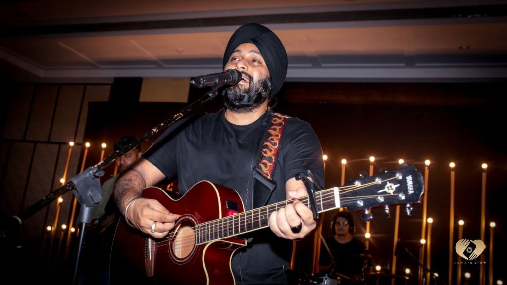 Juggy Sandhu After Party Performance at Pooja & Mohit's Karjat destination wedding