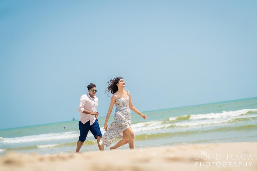 Beachside Pre Wedding Shoot in Thailand