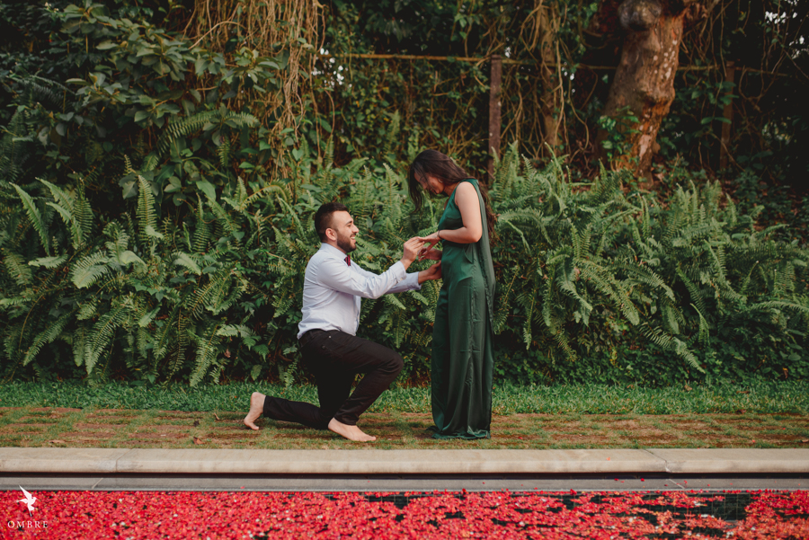 Adorable Proposal at Coorg Pictures