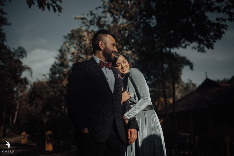 Super Cute Portraits of Yash & Somi from Tamara Pre-wedding Shoot