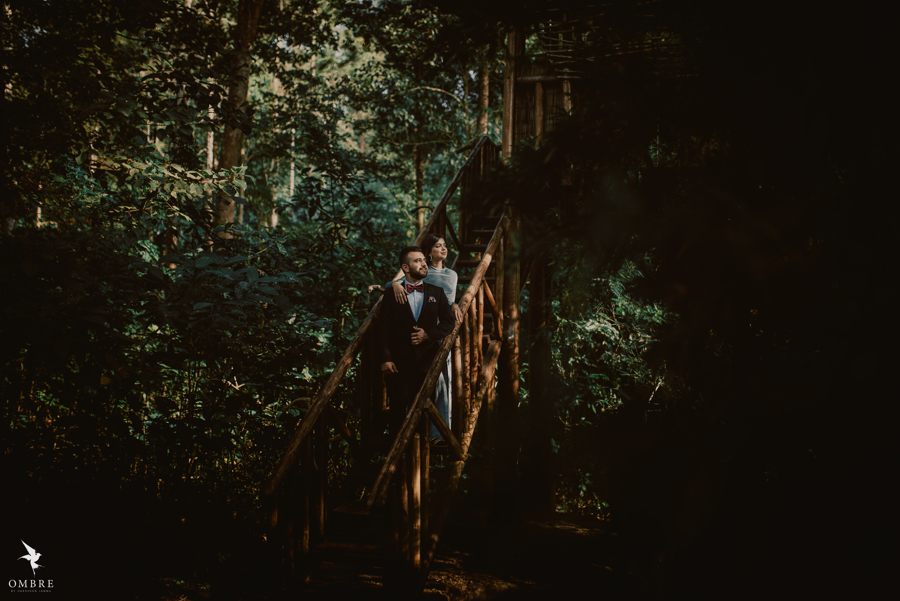 Forest Pre-wedding Shoot in Coorg