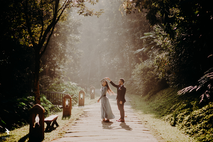 Somi & Yash's Picturesque Pre-wedding Shoot in Coorg
