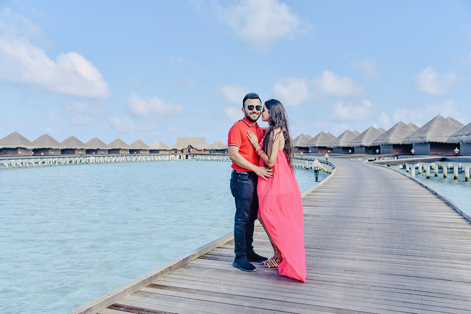 Scenic Honeymoon Destination in Maldives