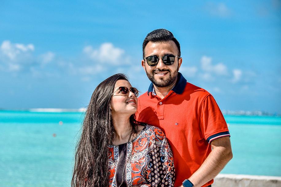 Romantic Honeymoon Getaway to Maldives Post Royal Mayfair Raipur Wedding