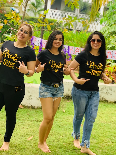 Cute and Trendy Outfits for Bachelorette in Goa