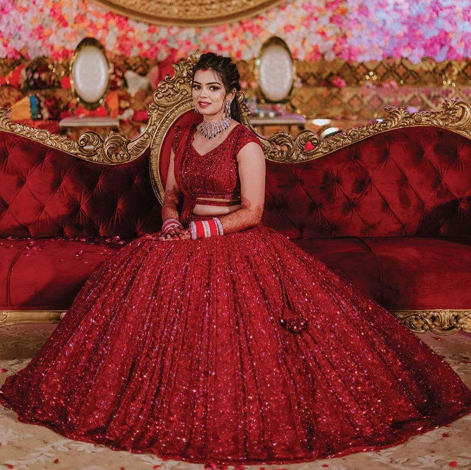 Glamorous Somi at Classic Palatial Themed Wedding Reception