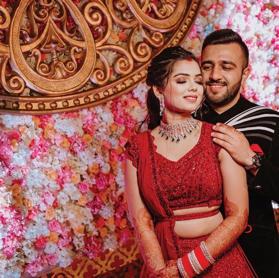 Reception Pictures from Mayfair Raipur Wedding