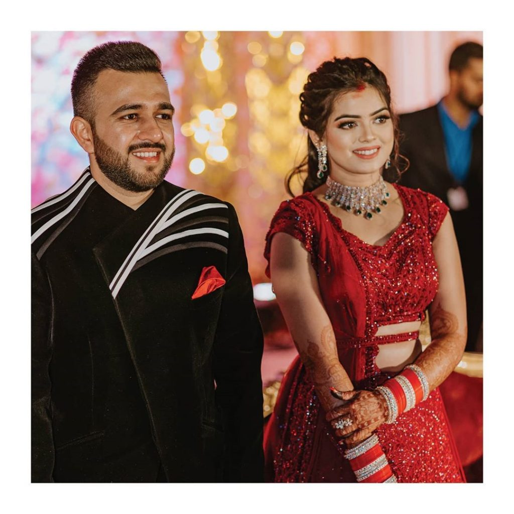 Candid Wedding Pictures from Somi & Yash's Wedding Reception
