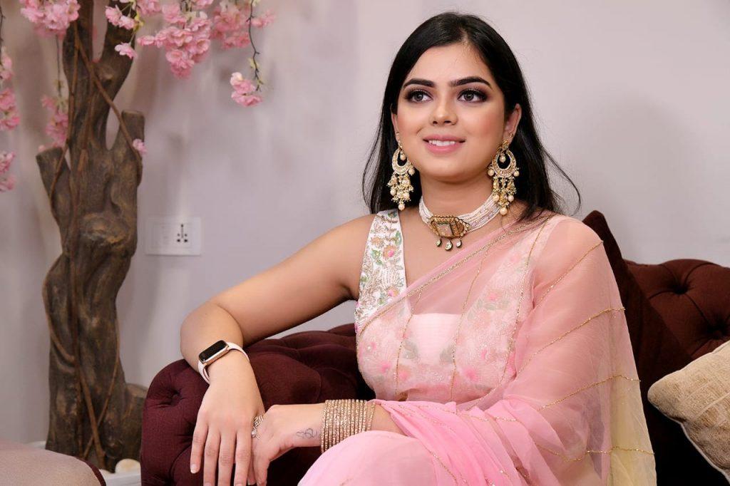 Somi Looking Stunning at First Function of Mayfair Raipur Wedding