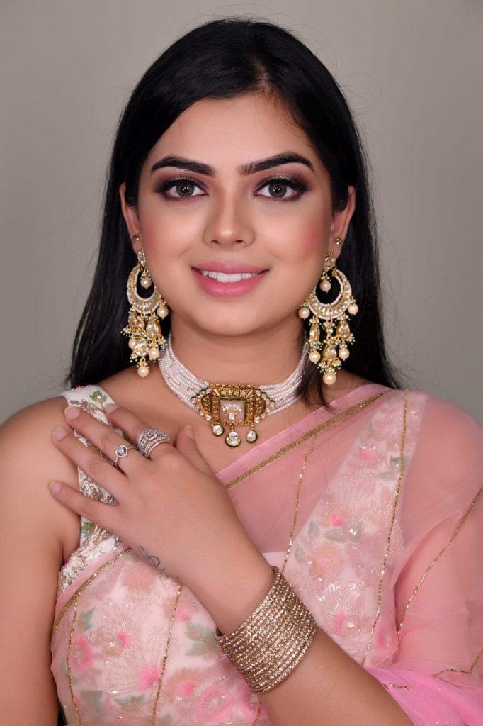Bridal Makeup Ideas for Roka Ceremony