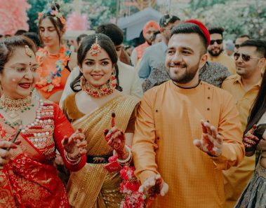 A Mayfair Raipur Wedding with magical Pre Wedding & Proposal in Coorg