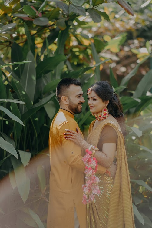 Punjabi Wedding's Haldi Ceremony Candid Pictures