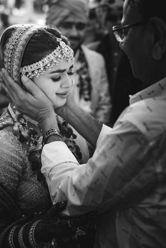 Beautiful Vidaai Ceremony Moment between Somi & her father