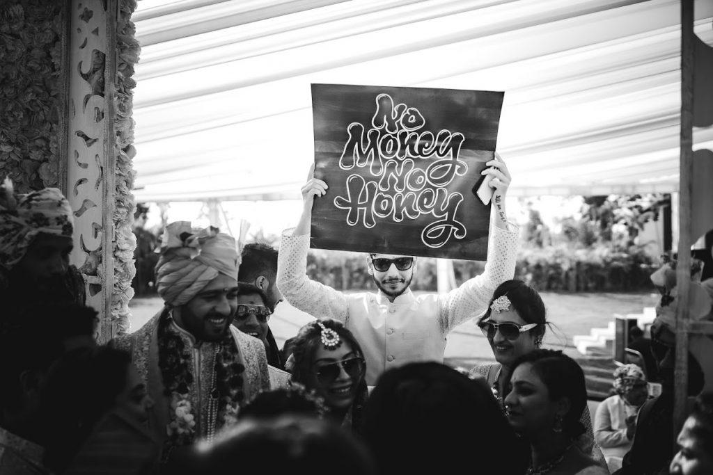 Mayfair Raipur Wedding Groom Welcome Picture