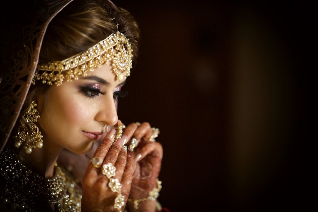 Kanika's Bridal Look at her Destination Wedding in Dubai