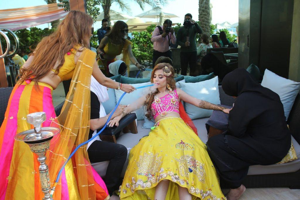 Luxury Mehendi Function at Fairmont Ajman Dubai