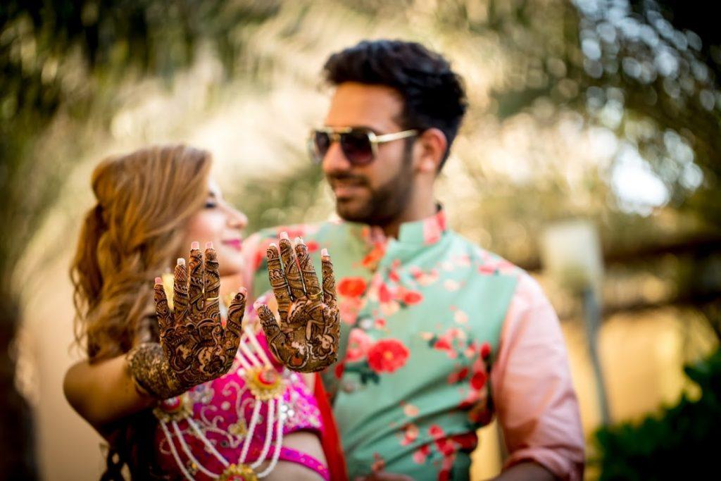 Kanika & Saurav's Mehendi Ceremony at Fairmont Ajman Hotel