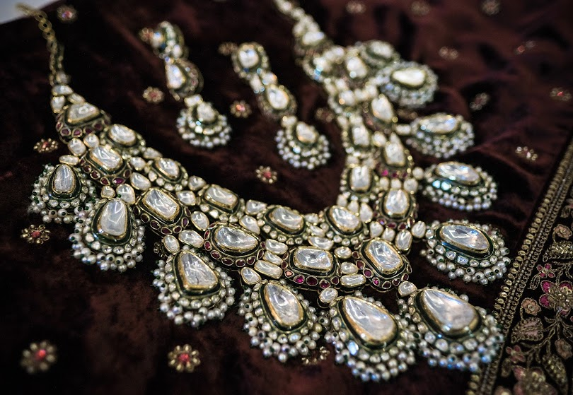 Aahana's Gorgeous Sabyasachi Lehenga and Bridal Jewellery for her destination wedding in Dubai
