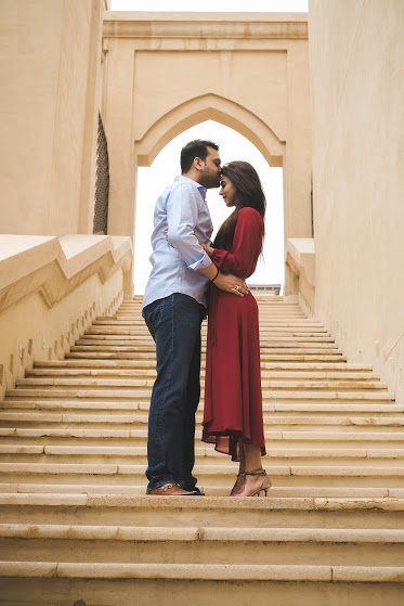 Aahana & Tarun's Romantic Photoshoot after their destination wedding in Dubai