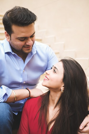 Aahana and Tarun's Post Wedding Shoot from Dubai Destination Wedding