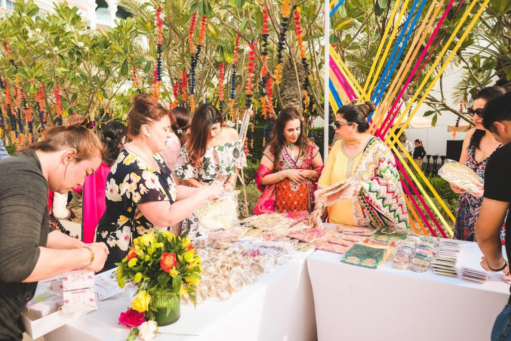Tarun & Aahana's Mehendi Party with Alluring Gift Corner