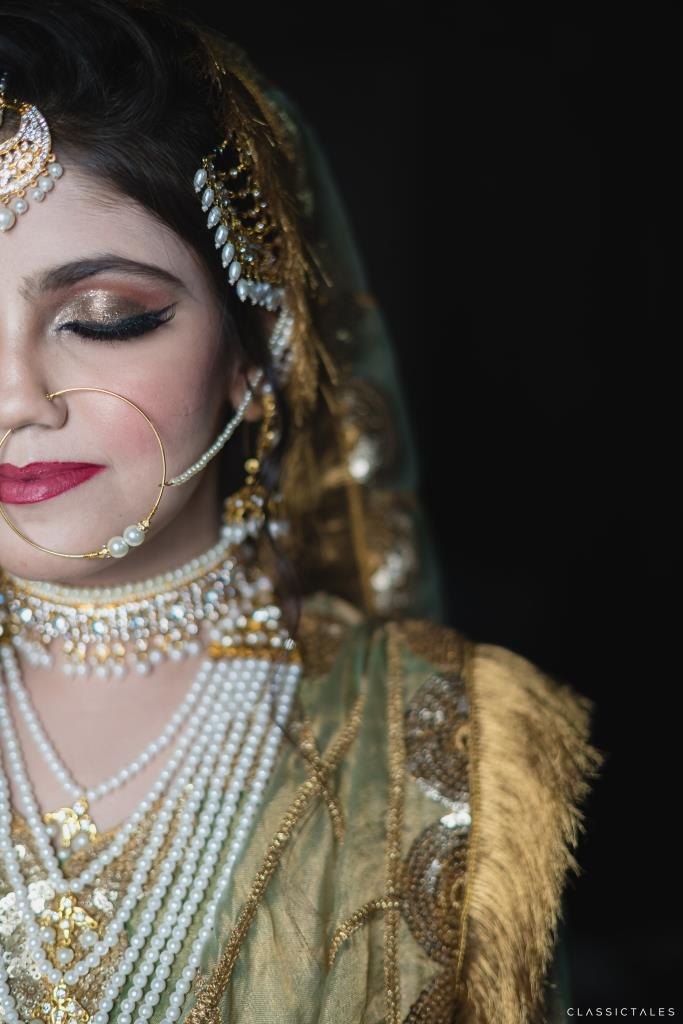 Mahdiyeh's Stunning Look at her Muslim Intimate Wedding in Lockdown
