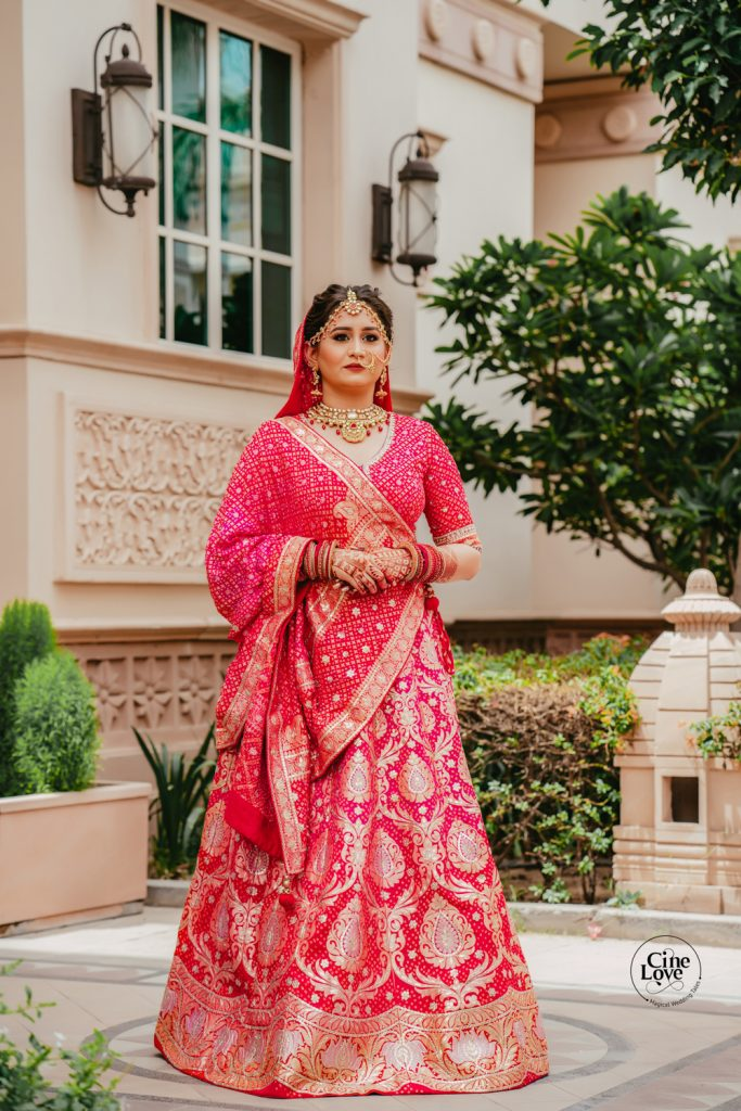 Ayushi's Stunning Bridal Look for her Intimate Wedding in Lockdown