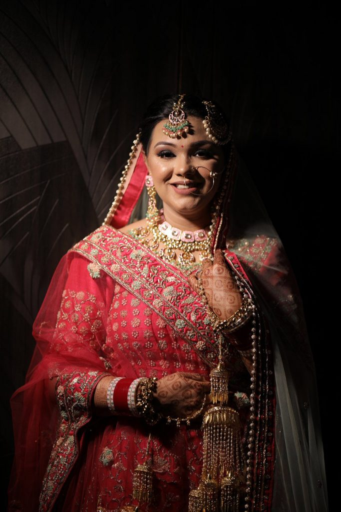 Post Wedding Bridal Photoshoot from Home Wedding in Ludhiana