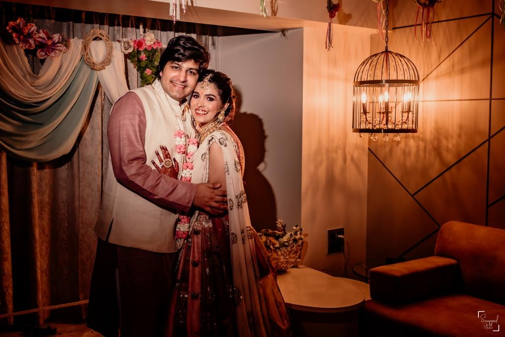 Adorable Pictures from one of the most beautiful intimate weddings in lockdown