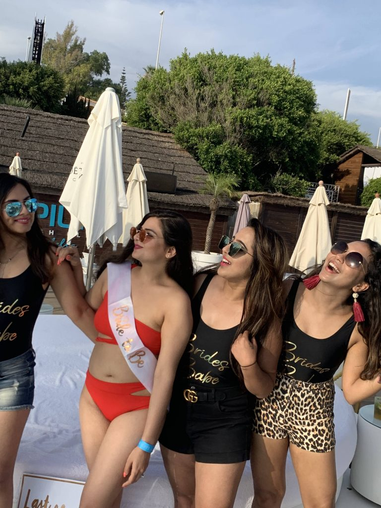 Fun Bachelorette Photoshoot in Spain for Aakriti with her best friends