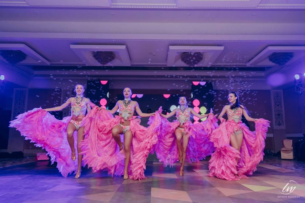 Lovely Russian Dance Performance for Akansha & Ankit's Cocktail Party at Le Meridien Jaipur