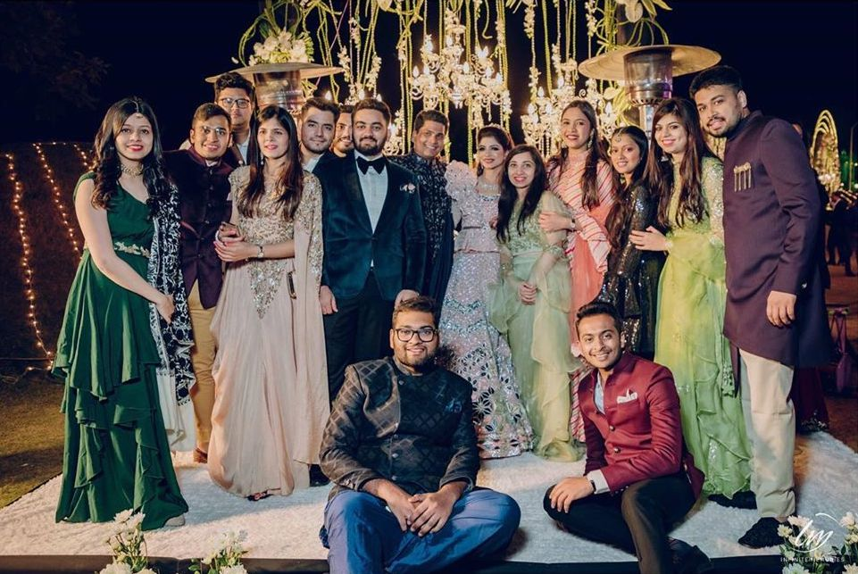 Family Picture Clicks from Le Meridien Royal Marwari Wedding