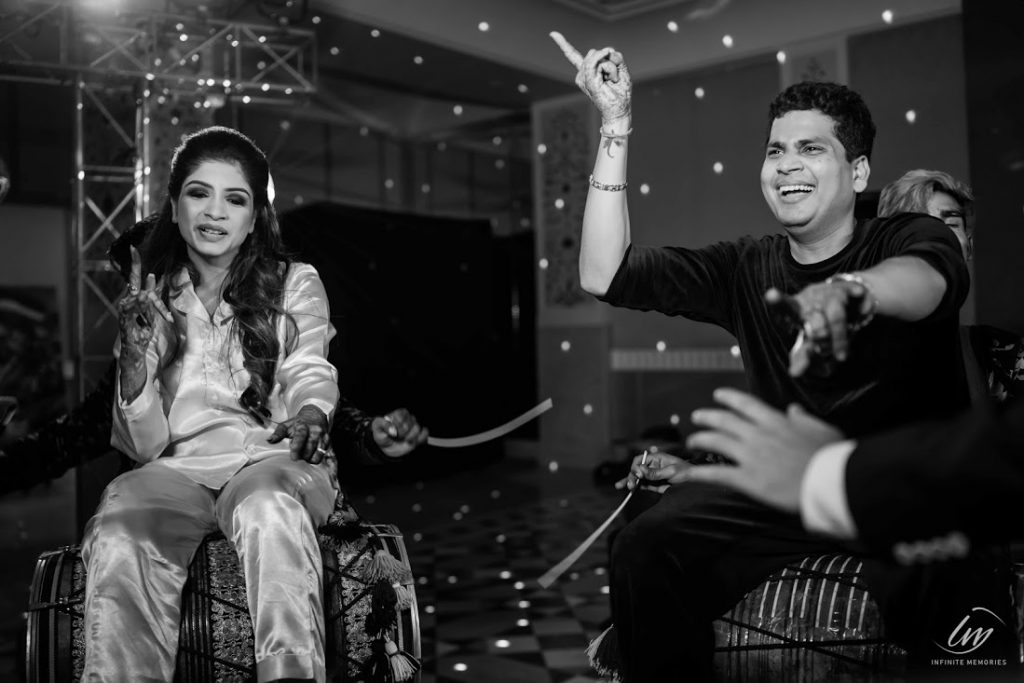 Dancing candids from Marwari Royal Wedding's After Party at Le Meridien