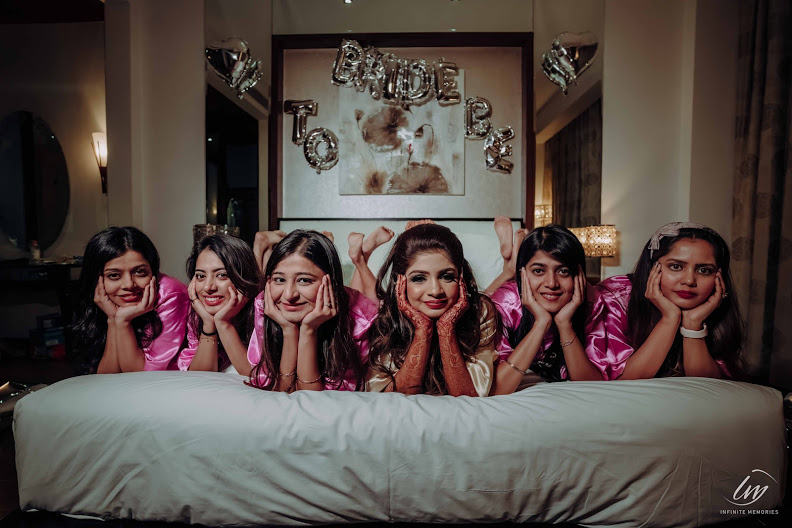 Lovely Photos from Bridesmaids Photoshoot at Le Meridien Jaipur