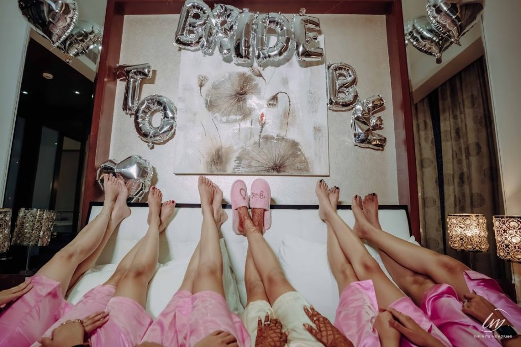 Akansha's Beautiful Themed Pre-wedding Shoot at Le Meridien Jaipur