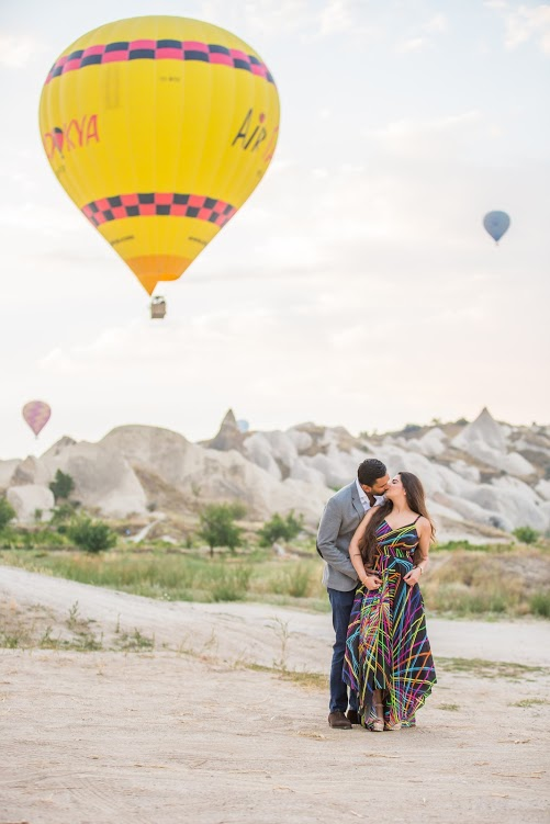 Picturesque Proposal Photoshoot for Hitesh & Aakriti before ITC Grand Bharat Wedding