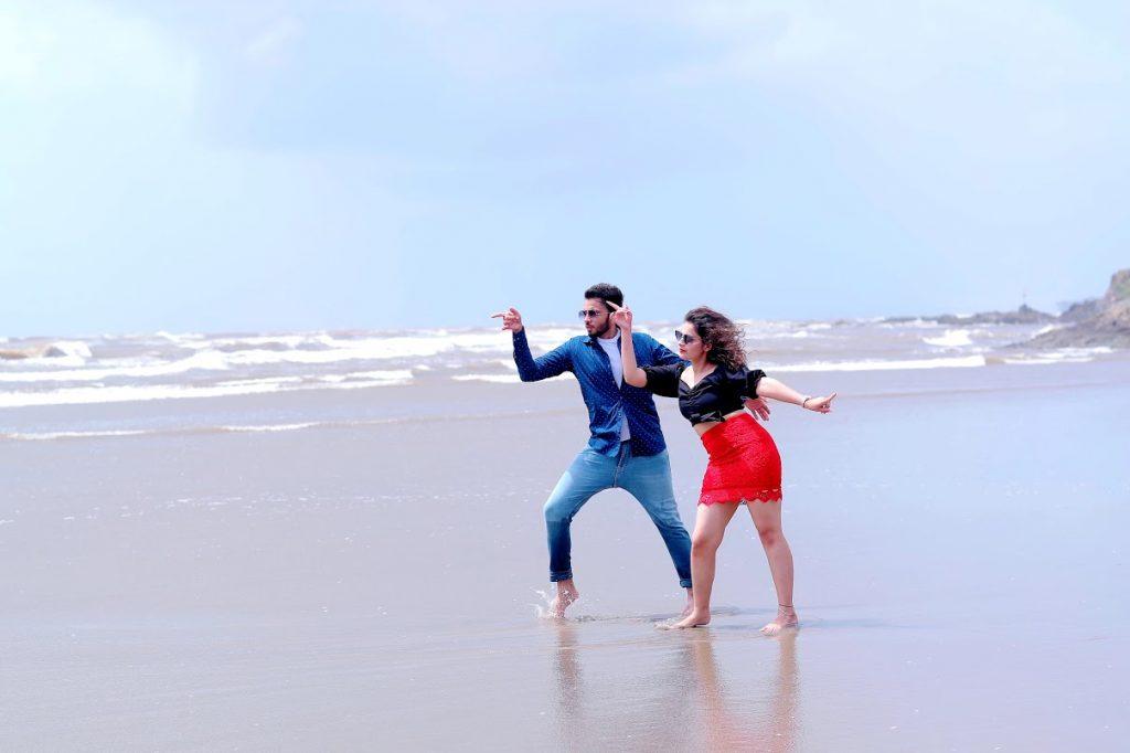 Fun Dance sequence for Pre-wedding Photoshoot in Goa