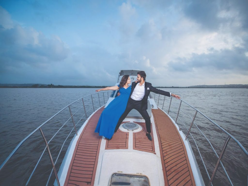 Amazing Pre-wedding Shoot in Goa for the Dancer Couple before Crowne Plaza Gurgaon Wedding