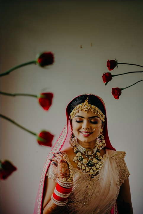 Somi's Post Bridal Photoshoot at one of the best resorts in Raipur for wedding- Mayfair Lake Resort