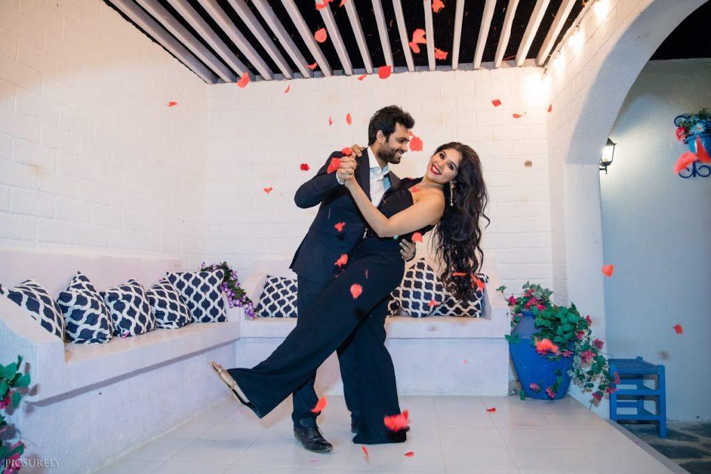 Romantic Pre-wedding Images of Harsha & Kunal captured in Mumbai before their Sea Princess Juhu Wedding