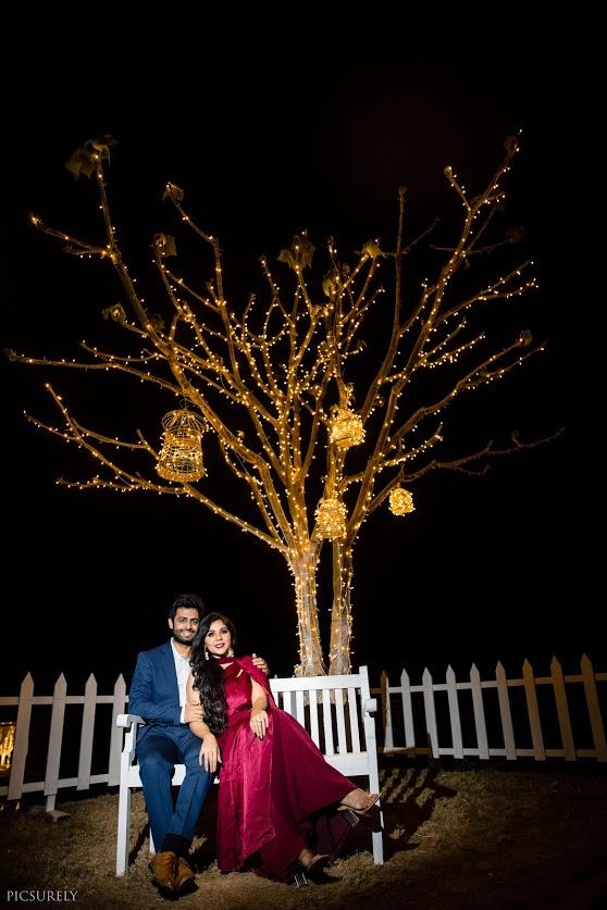 Outdoor Pre-wedding Shoot decor for Pre-wedding Shoot in Mumbai