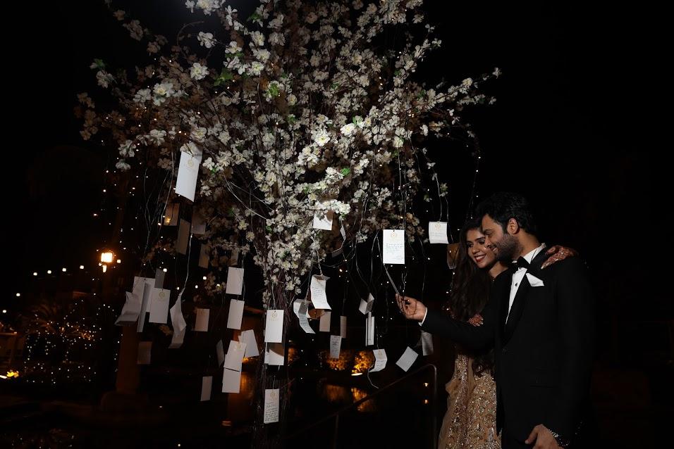 Classic Ivory and Pastel Themed Wedding Reception at JW Marriott Juhu Mumbai post Sea Princess Juhu Wedding