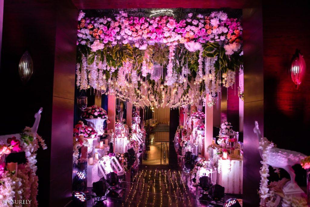 Mesmerising Pastel Themed Wedding Decor at Hotel JW Marriott Mumbai