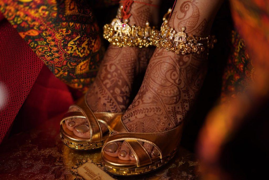 Stunning Bridal Accessory of Harsha for her Beach Wedding in Mumbai