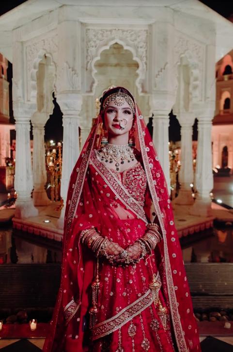 Amazing Photoshoot still of Sabyasachi Bride Akansha at her Destination Wedding in Jaipur