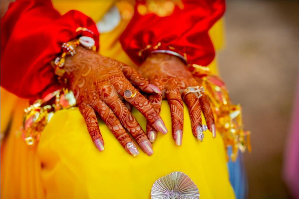 Fairmont Ajman Dubai Wedding Haldi Ceremony Portraits