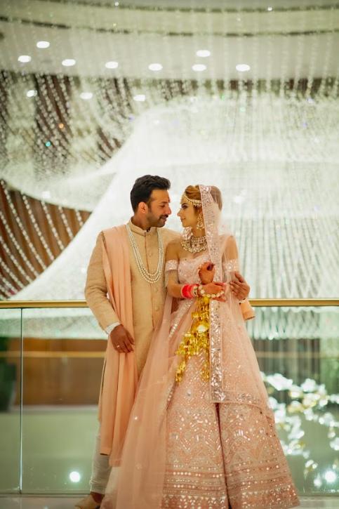Post Wedding Stills from Kanika & Saurav's Beach Wedding in Dubai