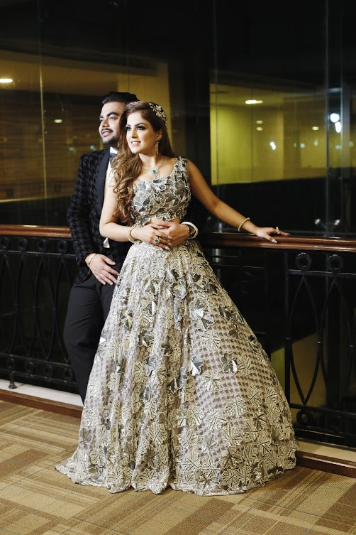Saurabh & Gargi Post Cocktail Photography at one of the luxury wedding venues in Delhi